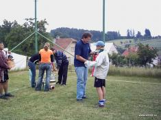 Turnaj O Pohár obce 2005