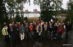 Exkurze zástupců Skalky ve Skandinávii